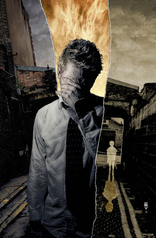 Tim bradstreet hellblazer illustration comic book art for Donald bradstreet