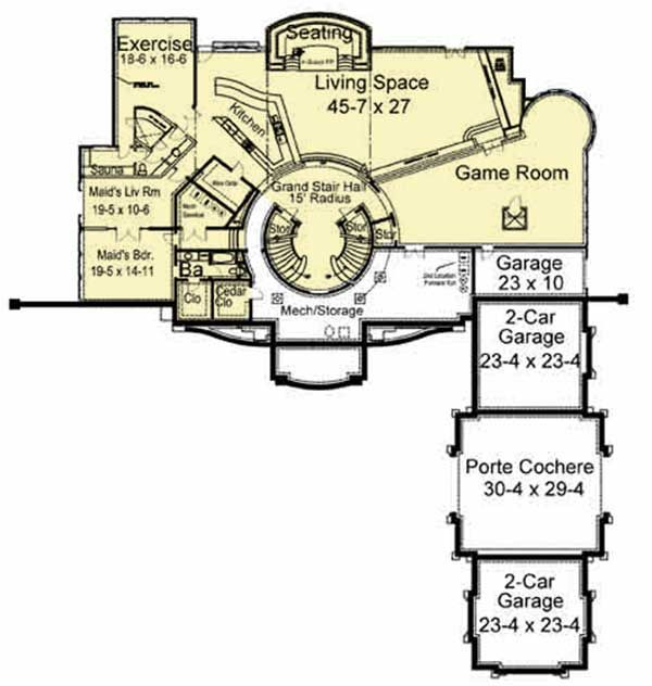 Plan 12199jl Awe Inspiring Architecture With Video Tour Luxury House Plans Craftsman Floor Plans Architectural Design House Plans