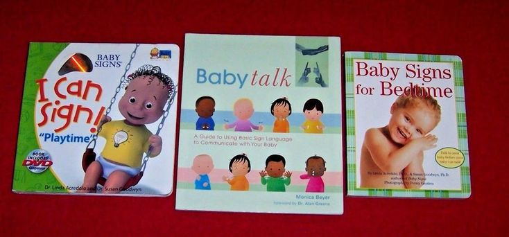3 Baby Sign Language Books Communicate with your Baby I Can Sign! Book + DVD