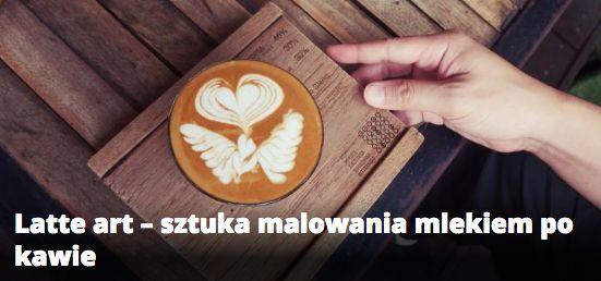 Latte art - sztuka malowania mlekiem po kawie. Zrobienie kawy z ładnym rysunkiem nie jest aż tak skomplikowane jak Ci się może wydawać! Artykuł: http://kawa.pl/artykuly/latte-art-sztuka-malowania-mlekiem-po-kawie #kawa #latteart #latte #coffee