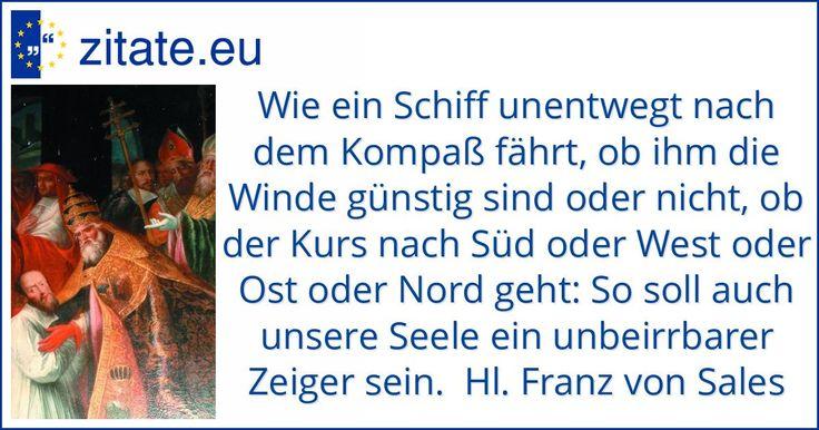 Zitat von Hl. Franz von Sales