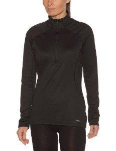 Intéressé(e) par les vêtements de randonnée ? Profitez de nos promotions femme de -20% à -50%*. Visitez également notre boutique Randonnée et Camping.  Patagonia W'S Capilene 3 Mw Zip Neck Tee-Shirt manches longues col montant zippé Femme