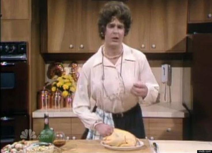 Dan Aykroyd As Julia Child On SNL...save the liver