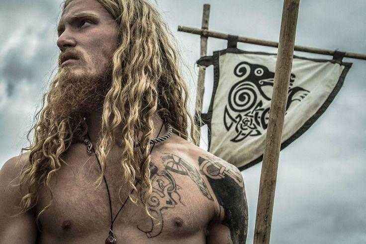 Viking men were proud of their long hair, and full beards... Remember that you egghead reenator clowns!!! http://hammer-ov-thor.tumblr.com/