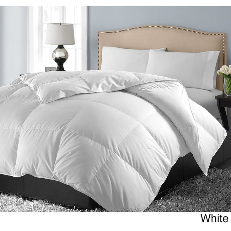 Hotel Grand 1000 Thread Count Egyptian Cotton Oversized White Down Comforter | Overstock.com Shopping - The Best Deals on Down Comforters