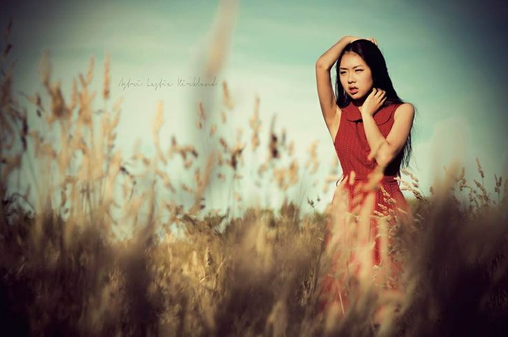 #model #longgrass #reddress #photography #fashion #highfashion #alk