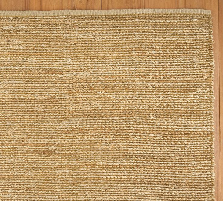 Heathered Chenille Jute Rug   Natural, 244 X 305cm. $570.00