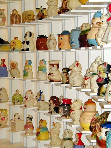 Andy Warhol's cookie jar collection.