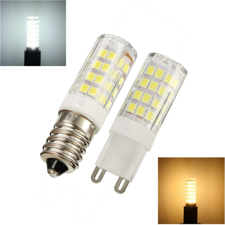 LED Halogen Light Bulb E14 G9 E12 5W 51led Ceramics Corn Light Replace Lamp Bulb Pure Warm White Spotlight Lighting 110V 220V #Affiliate