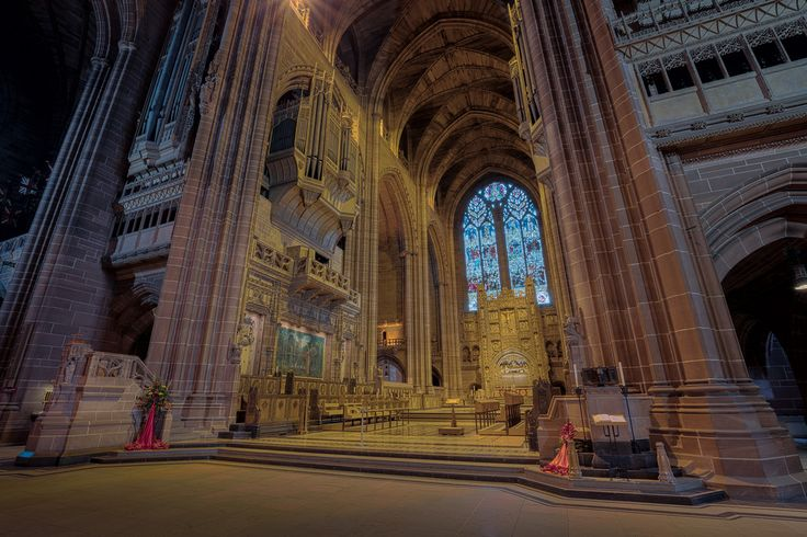 Liverpool Anglican Cathedral Liverpool England [OC][8686x5790]