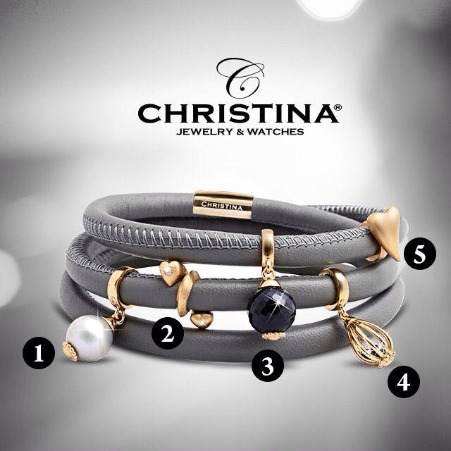 Christina Jewelry & Watches. Always with genuine gemstones. Which one do you like ! #christinajewelry