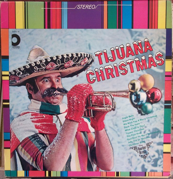 Tijuana Christmas, The Border Brass, Vintage Record Album, Vinyl LP, Christmas Holiday Music, Brass Band Sound, Latin Style, Instrumentals by VintageCoolRecords on Etsy