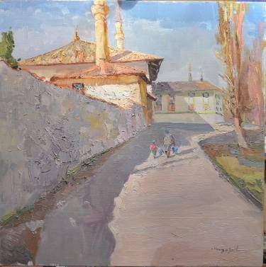 "Saatchi Art Artist Shandor Alexander; Painting, ""Bakhchisarai"" #art"