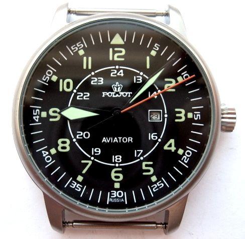 Russian Watch Poljot Aviator   eBay