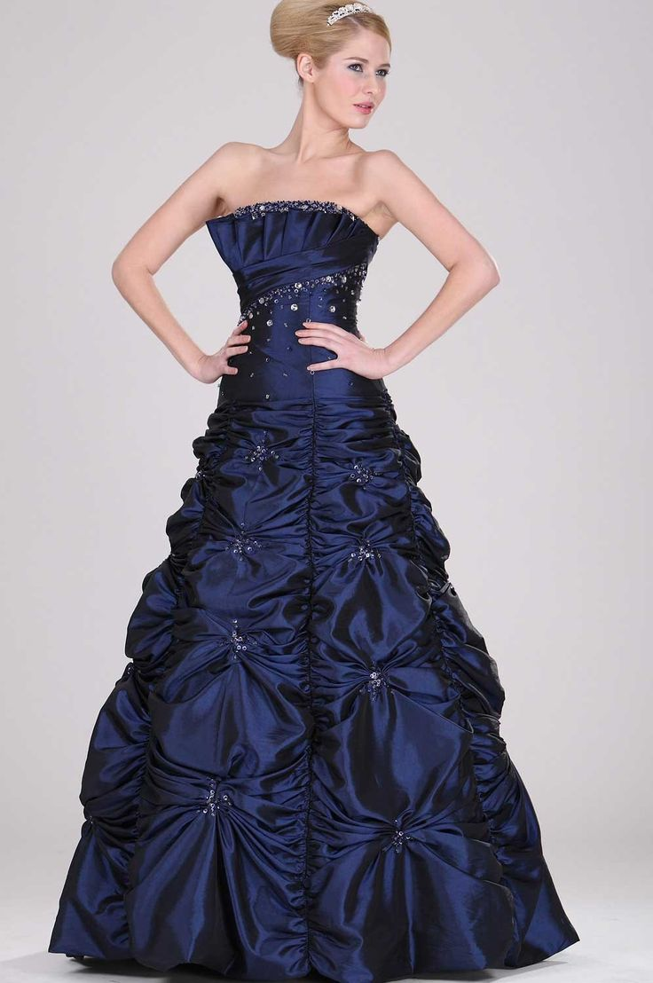 26 best Blaue Kleider images on Pinterest | Blue dresses, Neckline ...