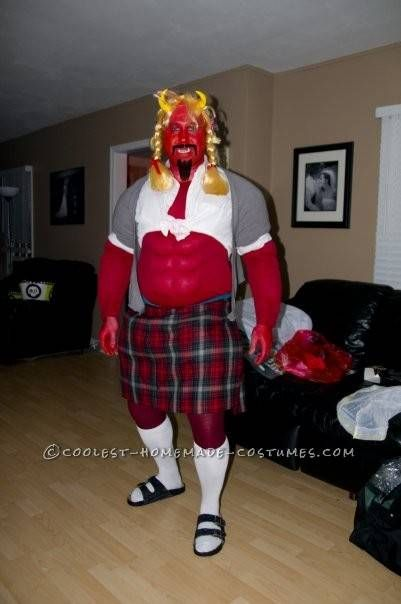 Funny South Park Satan Halloween Costume