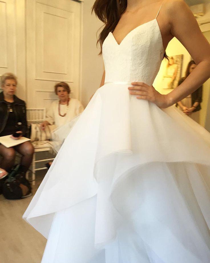 Fancy New York Bridal Fashion Week Show fall new collection wedding dress designer bridal gown catwalk