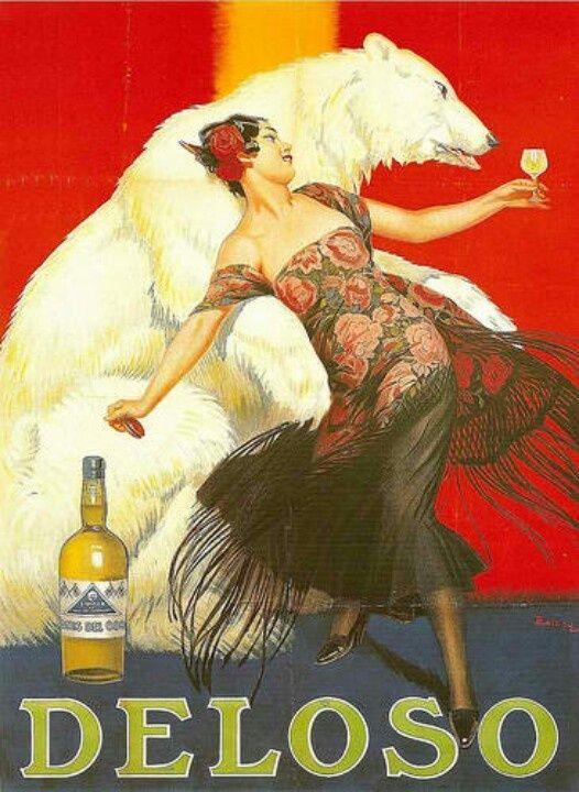 Deloso - vintage poster
