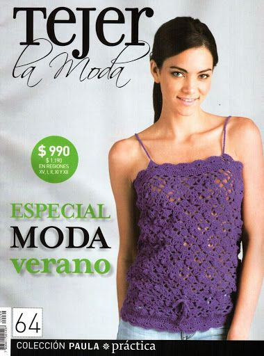 Tejer la moda 63 - Paulina Saavedra - Álbuns da web do Picasa