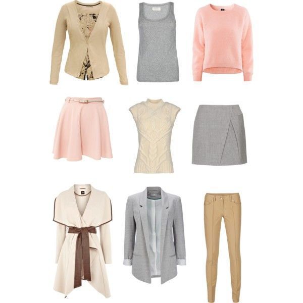 Light spring soft colors by sabira-amira on Polyvore