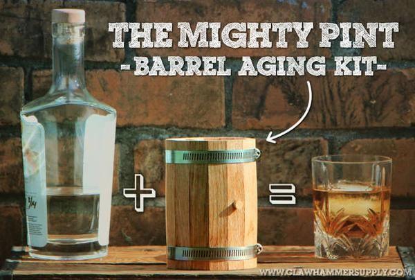 Barrel Aged Whiskey Kit