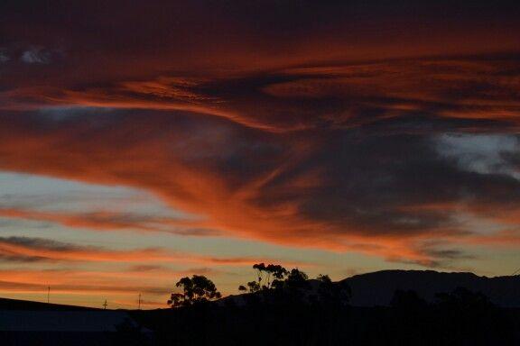 Sunset...farm
