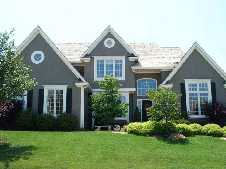 Showy Grey Exterior House Of And Exterior Paint Colors That Make Your House Look Bigger in