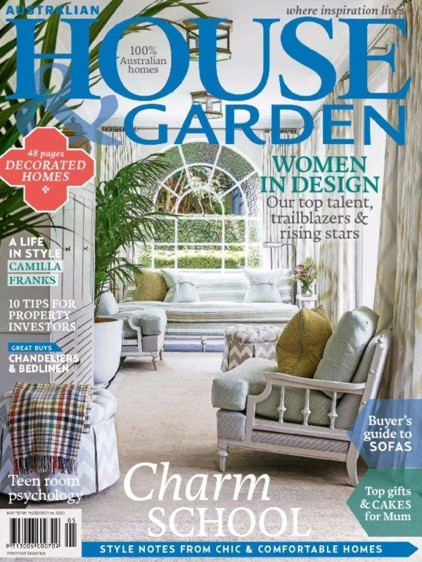 You Can Now Take A Look On May 2015 Issue Of Australian House And Garden Magazine