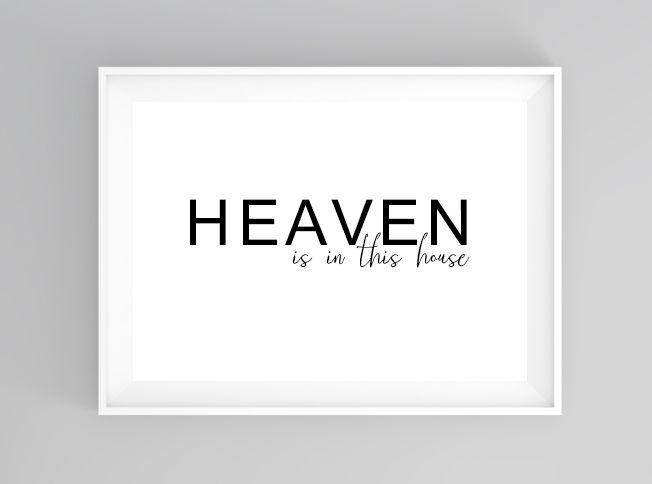 Heavenly home | print