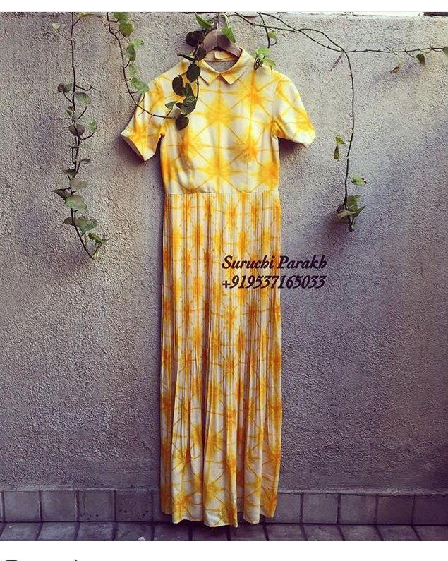 Suruchi Parakh  # tunic # tye and dye fun # summer chic# Indian fashion #