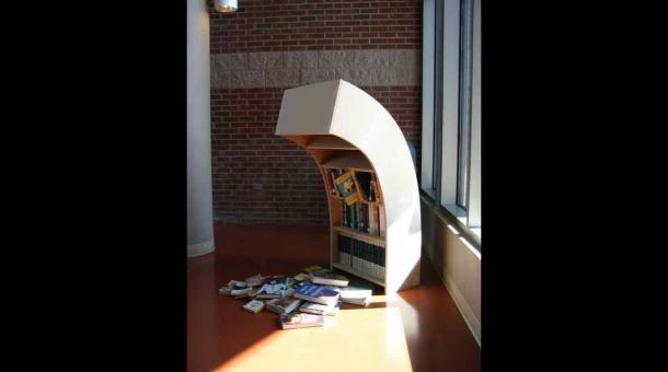 The changing value of books...and bookshelves. As publishing declines, bookshelves evolve | Marketplace.org