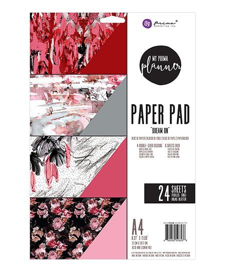 Prima Marketing Dream On A4 Paper Pad | zulily