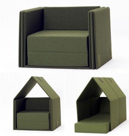 1000 idee su divano per bambini su pinterest mobili - Divano letto smontabile ...