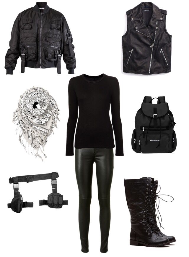 Zombie apocalypse outfit. I can totally see myself in this