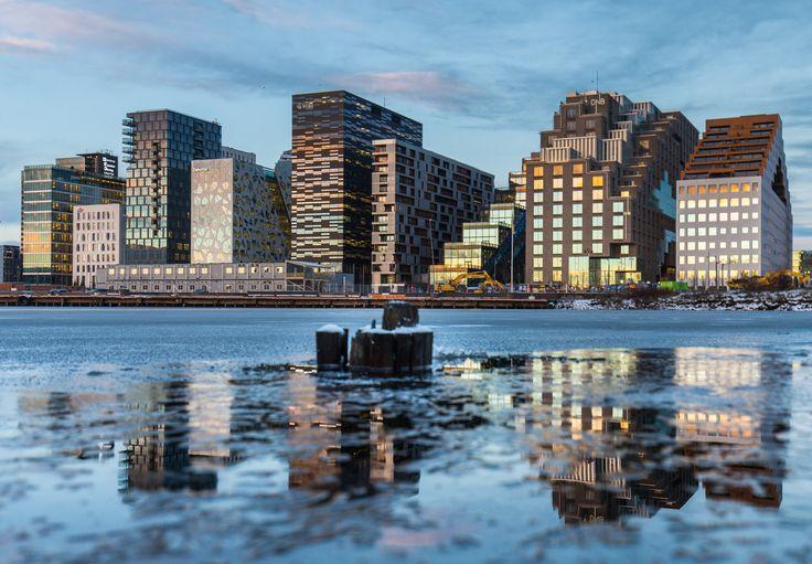 Barcode, Oslo, Norway / Mats Anda