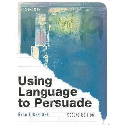 Using Language to Persuade: This comprehensive resource will prepare students for assessment success. Major changes for the new edition include more visual texts for analysis, updated stimulus material so students have current media texts and issues to work with and a full-colour design.