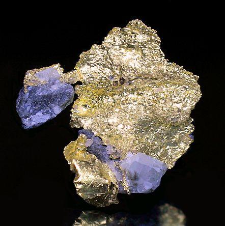 Semi-crystalline Native Leaf Gold on a bit of matrix. From the Yandal Greenstone Belt, Leonora Shire, Goldfields-Esperance region, Western Australia