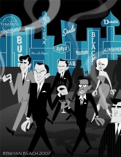 Rat Pack artwork 2007 + links to virtual concert - fun! …                                                                                                                                                                                 More