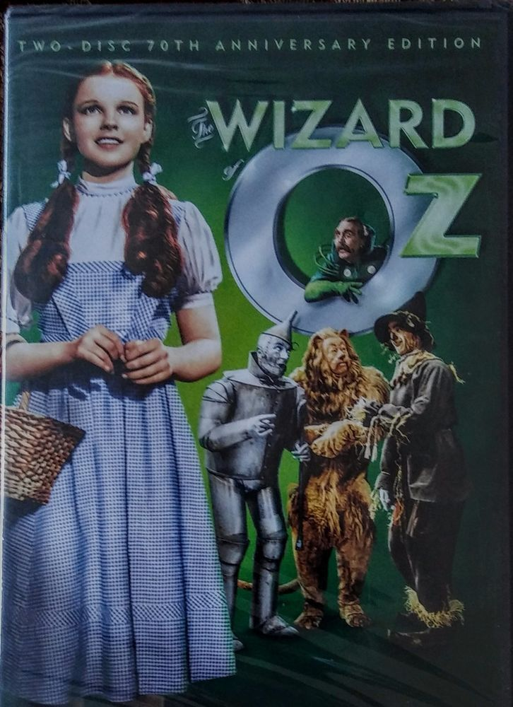 The Wizard of Oz DVD New Two Disc 70th Anniversary Ed Includes John Ritter TV Special The Dreamer of Oz. Brand New! $17.99 Includes 2 Discs and many extras!  New!  EBAY