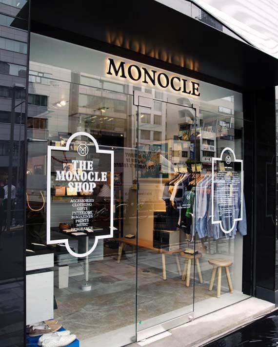 Monocle shop in Tokyo