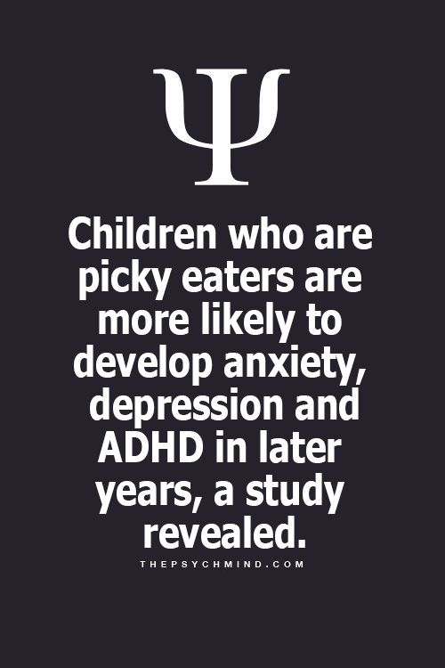 Hope not ever because we have a very picky eater! Food makes you happy, family makes you whole!