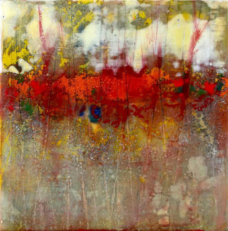 Pamela Caughey, Encaustic Paintings, Drawings, Prints, Exhibitions - PAMELA CAUGHEY
