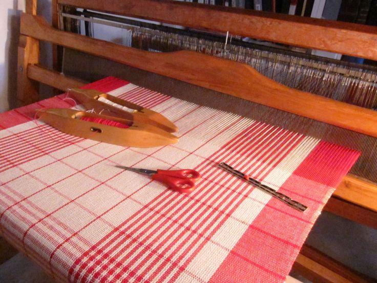 Handmade Woven Windscreen Washer in cotton by LesFouDArt