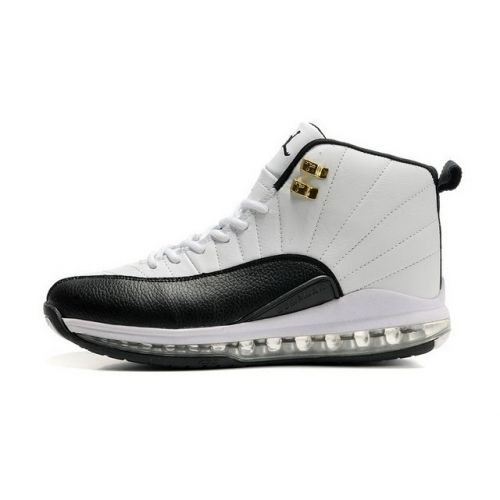 2013 Lastest Air Jordan I Phat Low Men Sneakers In Black And White Sole New Year Deals