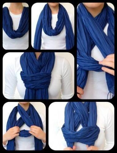 Fashion Style Tips Ideas Scarfs Tying 54 Ideas | Ways to wear a scarf, Scarf styles, How to wear scarves