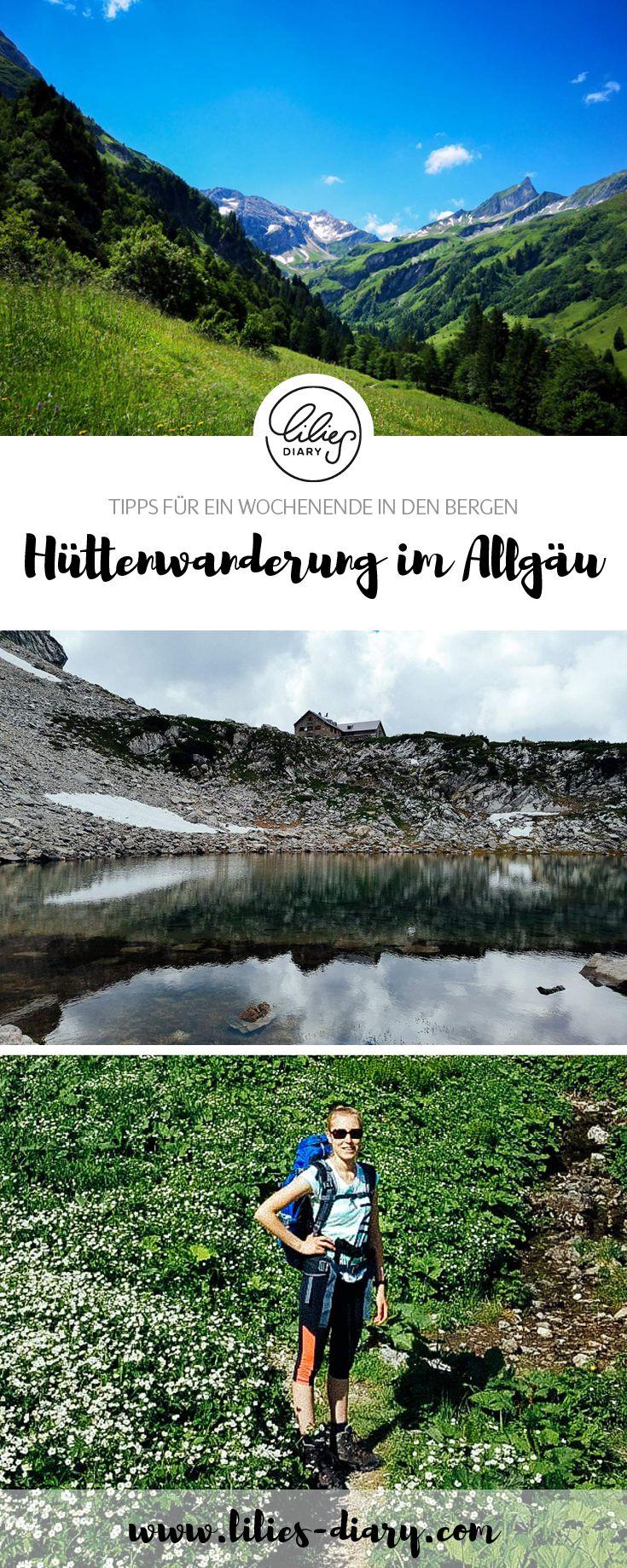 Hüttenwanderung im Allgäu – Tipps für ein Wochenende in den Bergen – WANDERN UND OUTDOOR