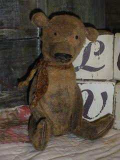 Handmade Teddy Bears and Raggedies: teddy bears