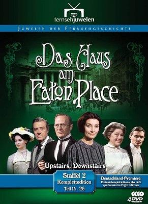 Die englische Serie Das Haus am Eaton Place (Originaltitel: Upstairs, Downstairs) war eine der erfolgreichsten Serien im englischen, amerikanischen und auch deutschen Fernsehen. Die von 1971 bis 1975 produzierte Serie erzählt das Leben der Londoner Familie Bellamy und deren Dienstboten zwischen 1903 und 1930.