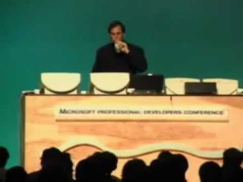 Steve Jobs presents WebObjects at MSPDC (1996)