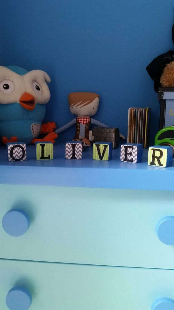 Check out this item in my Etsy shop https://www.etsy.com/listing/207304243/personalised-wooden-name-blocks